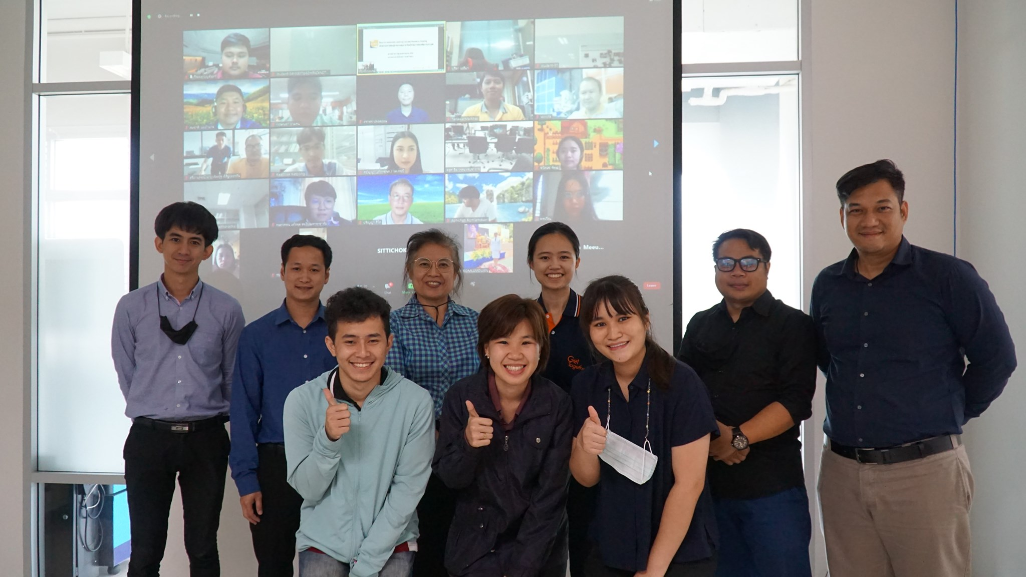 การอบรมโครงการ Advanced Learning Lab and Resource Sharing
